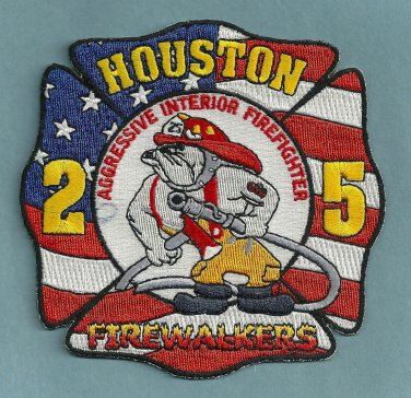 Houston Fire Department Station 25 Company Patch