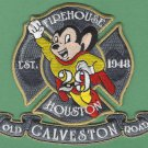 Houston Fire Department Station 29 Company Patch Mighty Mouse