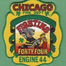 Chicago Fire Department Engine Company 44 Fire Patch