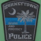 Burnettown South Carolina Police Patch
