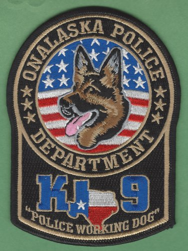 Onalaska Texas Police K-9 Unit Patch