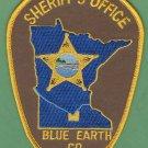 Blue Earth County Sheriff Minnesota Police Patch
