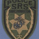 Camp Pendleton Marine Base California Police SRS Patch Green