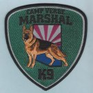 Camp Verde Marshal Arizona Police K-9 Unit Patch