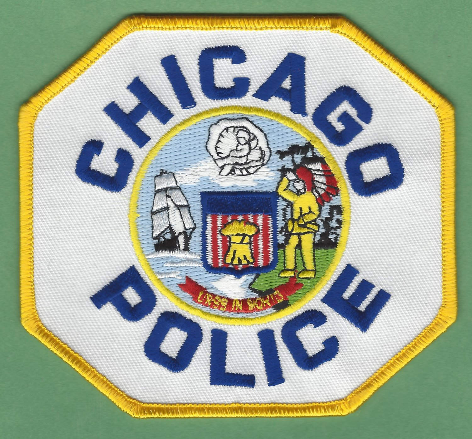 Chicago Illinois Police Patch