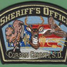 Corson County Sheriff South Dakota Police Patch