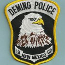 Deming New Mexico Police Patch