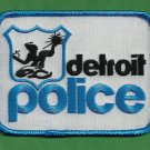 Detroit Michigan Police Proto-type Patch