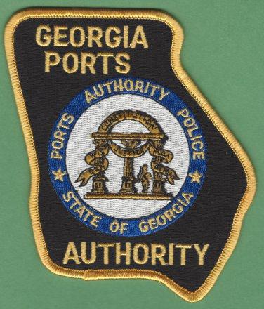 Georgia Port Authority Police Patch
