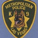 Las Vegas Nevada Police K-9 Unit Patch