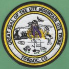 Ute Mountain Tribal Seal Patch