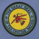 Choctaw Nation Tribal Seal Patch