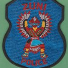 Zuni Nation New Mexico Tribal Police Patch