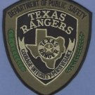Texas Rangers Public Safety Police Tactical Patch