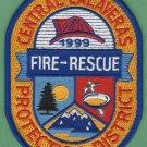 Central Calaveras County California Fire Rescue Patch