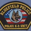 Bluefield Virginia Police K-9 Unit Patch