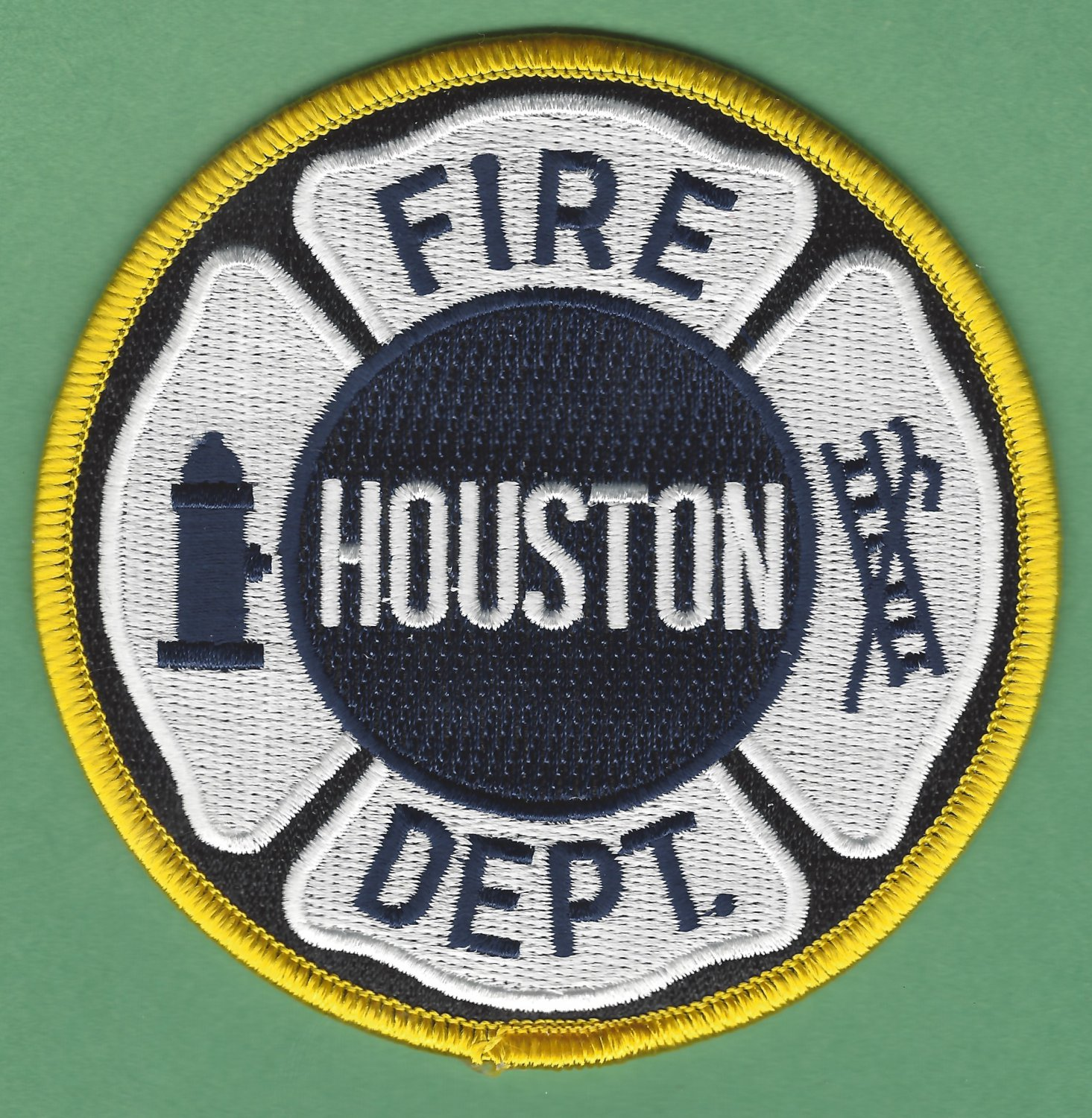 Houston Texas Fire Patch