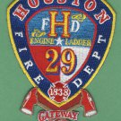 Houston Fire Department Station 29 Company Patch