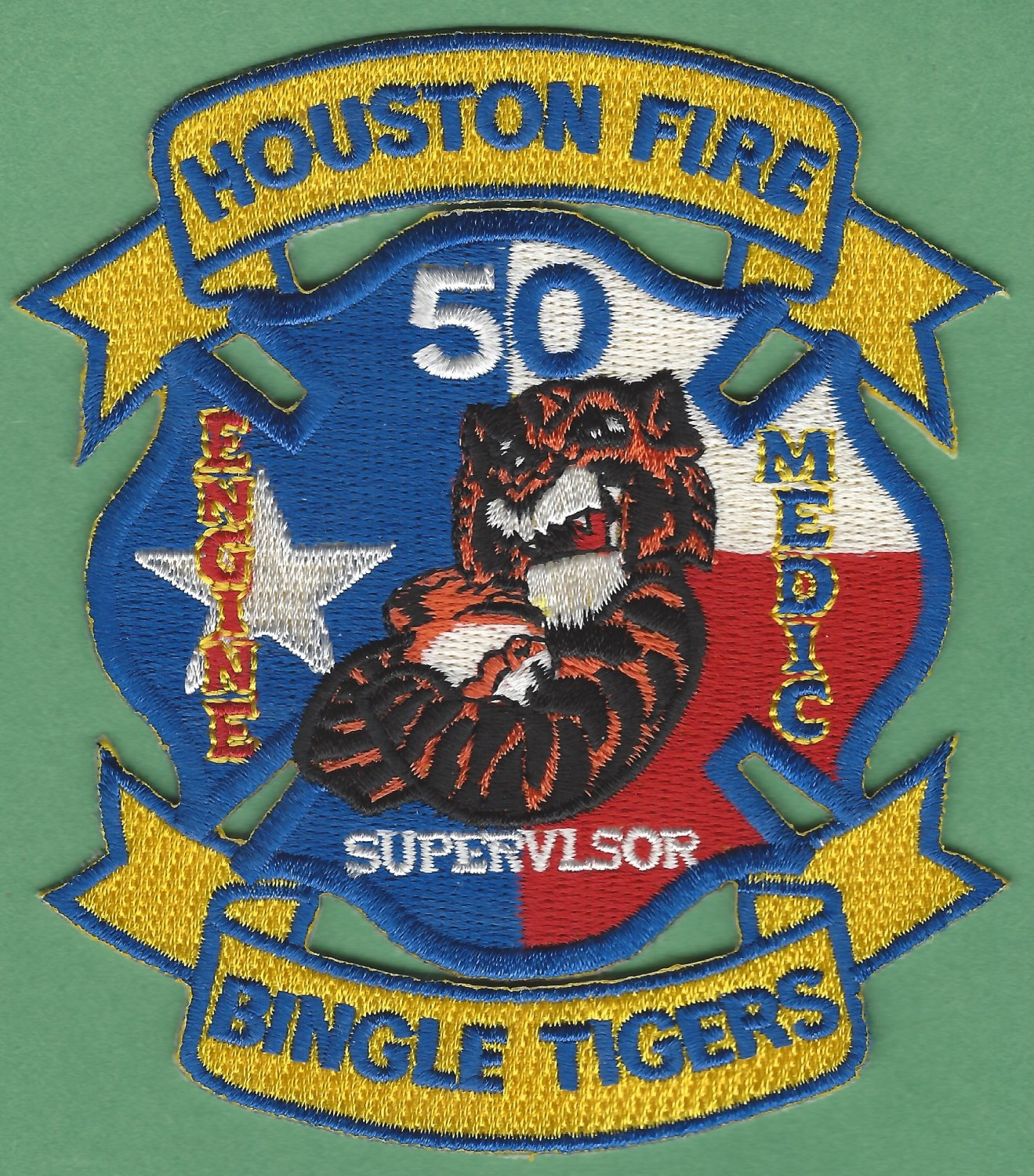 Houston Fire Department Station 50 pany Patch