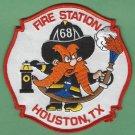 Houston Fire Department Station 68 Company Patch Yosemite Sam
