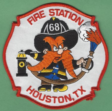 Houston Fire Department Station 68 Company Patch Yosemite Sam