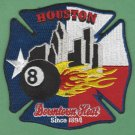 Houston Fire Department Station 8 Company Patch