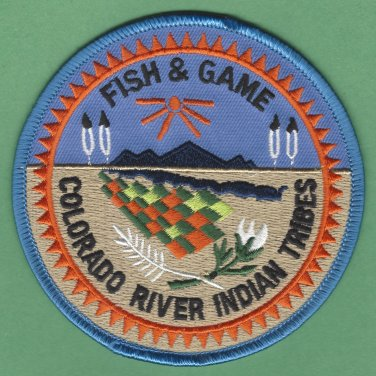 Colorado River Tribal Fish & Game Enforcement Police Patch