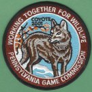 Pennsylvania Game Commission 2001 Coyote Series Patch