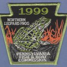 Pennsylvania Fish & Boat Commission 1999 Northern Leopard Frog Patch