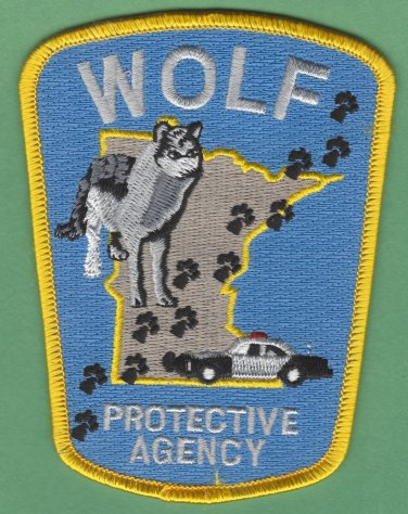 Minnesota Department of Natural Resources Wolf Protection Agency Patch