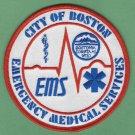 Boston EMS Emergency Medical System Paramedic Patch