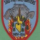 Shoshone Paiute Tribal Hot Shot Crew Fire Patch