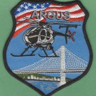 Oakland California Police Helicopter Air Unit Patch ARGUS