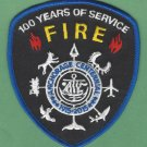 Anchorage Alaska Fire Rescue Patch 100 Years of Service