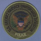 United States Secret Service Police Uniform Patch Subdued Green
