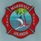 Marshall Islands Fire Rescue Patch