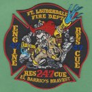 Fort Lauderdale Fire Department Engine 47 Rescue 47 Company Patch