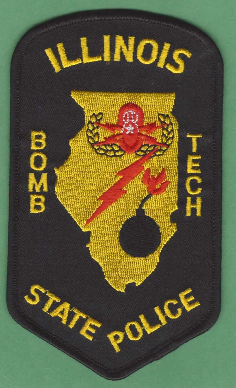 Illinois State Police Bomb Squad Technician Patch