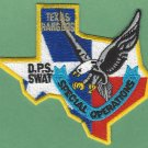 Texas Rangers Public Safety SWAT Team Police Patch