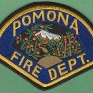 Pomona California Fire Rescue Patch