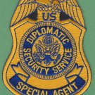 United States Diplomatic Security Service Special Agent Badge Patch