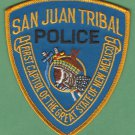 Pueblo of San Juan New Mexico Tribal Police Patch