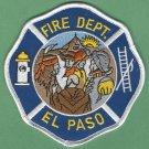 El Paso Texas Fire Patch