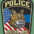 Delta Missouri Police Patch