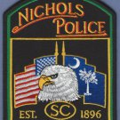 Nichols South Carolina Police Patch