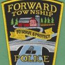 Forward Township Pennsylvania Police Patch