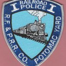 Richmond, Fredericksburg & Potomac Railroad Police Patch