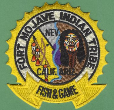 Fort Mojave Tribal Fish & Game Enforcement Police Patch