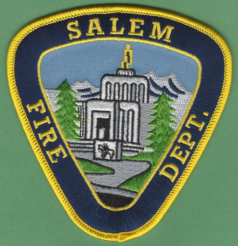 Salem Oregon Fire Rescue Patch