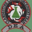 DEA Clandestine Drug Lab Enforcement Police Patch